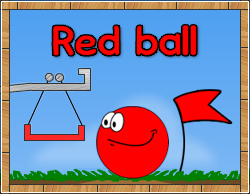 red ball game free online play