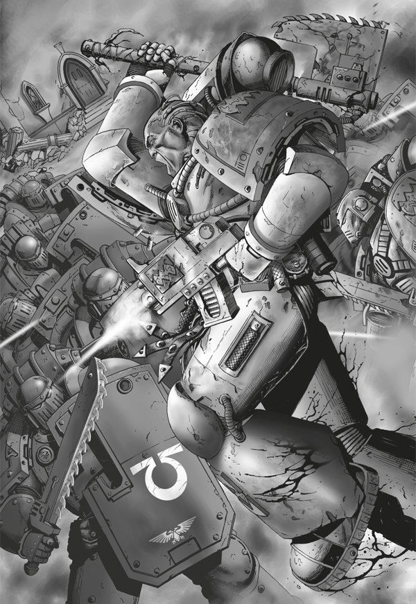 [W30K] Legiones Astartes XII : World Eaters World_Eaters_assaulting_UM_battle_line