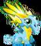 Dragón Fluorescente Fase 1