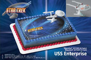 DecoPac USS Enterprise DecoSet