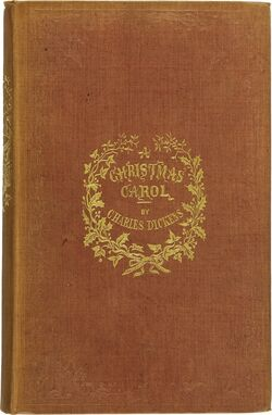 A Christmas Carol first edition book