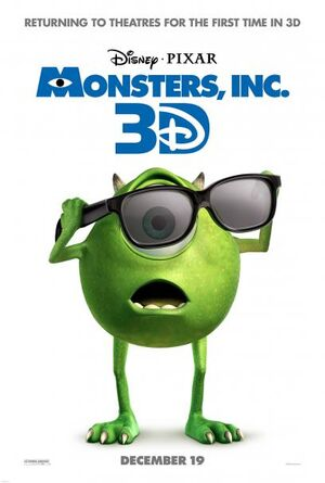 Monsters, Inc 3D 1