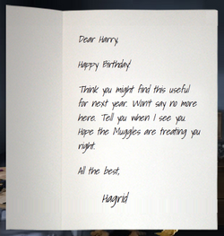 Hagrid&#39;sLetter1993