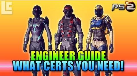 Engineer Certification Guide (Planetside 2 Gameplay Commentary)