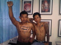 Tattoo Superman & Diamond