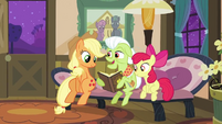Granny Smith with the family album S3E8