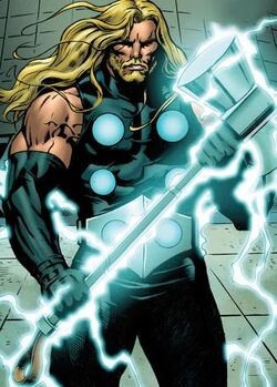 Thor Odinson (Earth-1610) from Ultimate Comics Ultimates Vol 1 18.1