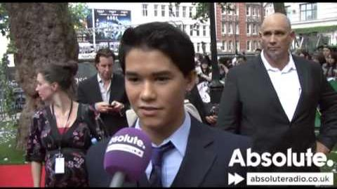 Twilight Eclipse premiere - Boo Boo Stewart (Seth Clearwater) interview