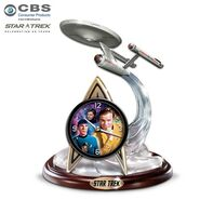 Bradford Exchange Star Trek clock