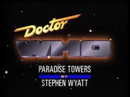 Paradise-towers-title-card