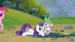Rarity perfectly acted S3E9