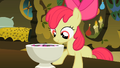 Apple Bloom looking curiously into the bowl S2E6.png