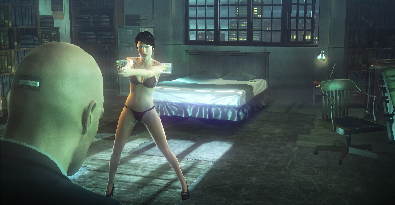 The girl from hitman naked