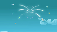 The Wonderbolts Fireworks S01E16