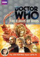 The Claws of Axos Special Edition Region 2 DVD