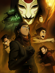 The Legend of Korra finale press art
