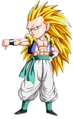 Gotenks SSJ 3 Render