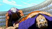 Elfman beats Bacchus