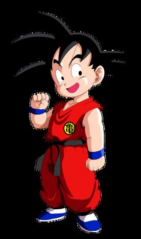Ilustração de Goku