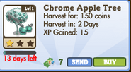 Chrome Apple Tree Market Info (January 2012)