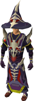 Dragonbone mage armour equipped