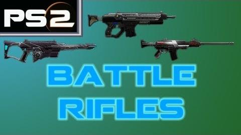 Planetside 2 - Battle Rifles (Eidolon, Warden, AMR-66) - Mr. G4F
