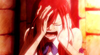 Erza crying