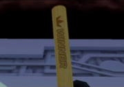 The winner stick
