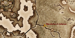 Wayshrine of Julianos Maplocation