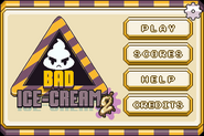 Bad Ice-Cream 2 Main Screen