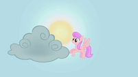 Pink Sunny Rays moving a cloud S01E08