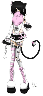 Kin Kaneko Full Body Transparent