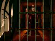 Ozai in jail