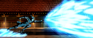 Azula&#39;s blazing blue fire attack