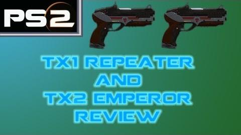 Planetside 2 - TX1 Repeater and TX2 Emperor Gun Comparison Review - Mr. G4F