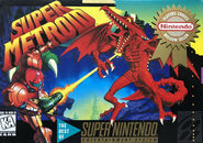 Super Metroid NA Player's Choice boxart