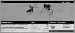 BFBC2 UAV Stats