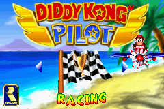Main Menu - Diddy Kong Pilot (2001)