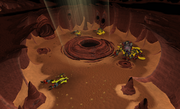 Kalphite King's chamber entrance