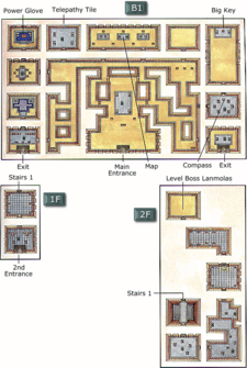 Desert Palace Map