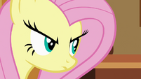 Fluttershy glare S02E19