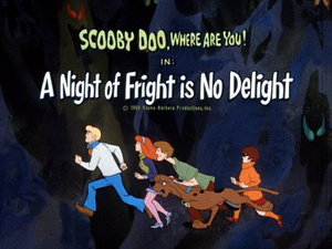 A Night of Fright is No Delight title card