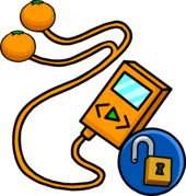 Orange MP3000 clothing icon ID 11456