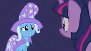 Trixie usando aquela Alicorn amuleto S3E5