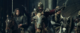 Theoden leads the attack