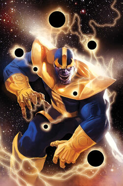 Thanos Rising Vol 1 1 Djurdjevic Variant Textless