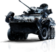 Battlefield 3 LAV-25 HQ Render