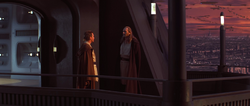 Jedi Council Tower balcony