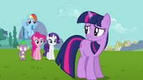 Twilight relieved &quot;if he gets out of hand&quot; S03E10