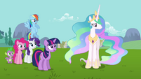 Princess Celestia &quot;Fluttershy may know best&quot; S03E10